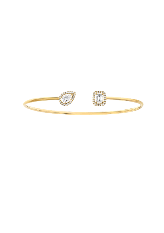 990178c519f03 Messika Move My Twin Toi & Moi Thin diamond bangle. Size S.