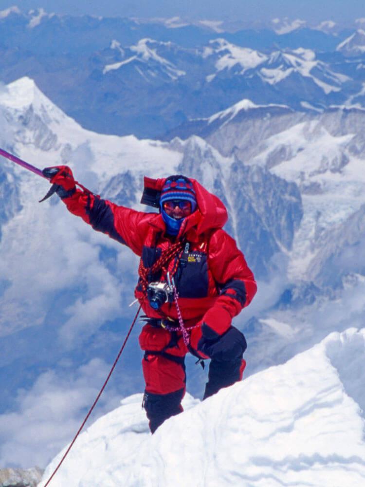 4b98111f Verdens høyeste fjell er besteget. Foto: Rolex